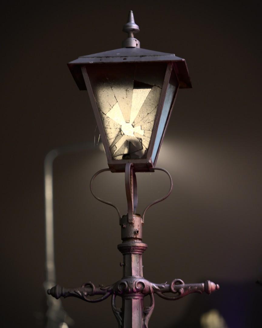 фонарь на центрально улице